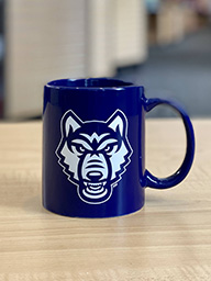 UNIVERSITY OF WEST GA WOLVES MUG