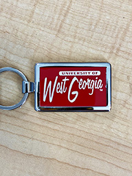 University Of West Ga Key Chain - Red
