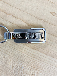 University Of West Ga Grandpa Key Tag