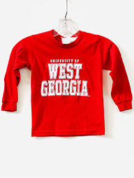 University Of West Ga Long Sleeve Youth Tee