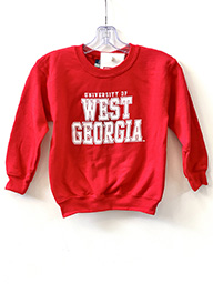 University Of West Ga Fleece Youth Crewneck