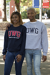 UWG Tackle Twill Applique Crew