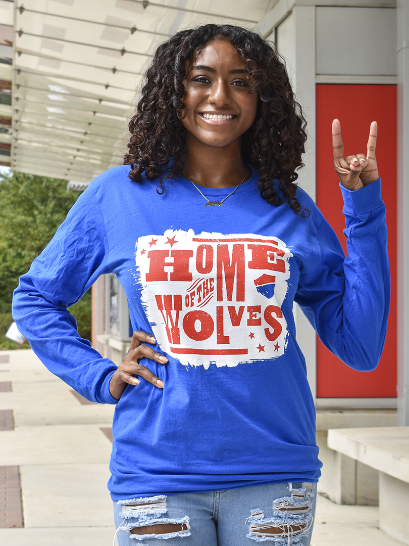 Home Of The Wolves Long Sleeve Tee (SKU 11316176259)