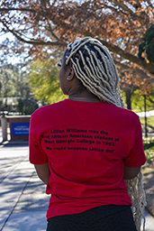 Black UWG Alumni Network Tee