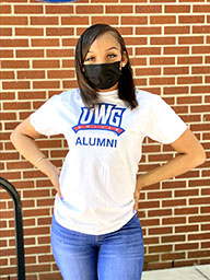 UWG Athletic Logo Alumni Tee